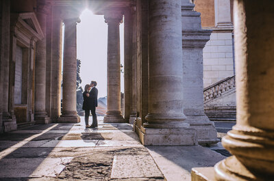 Rzymska sesja narzeczeńska Olimpii i Alessandro! Nie przegap!
