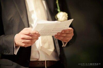 Discours des témoins de mariage : les DON'T et les DO