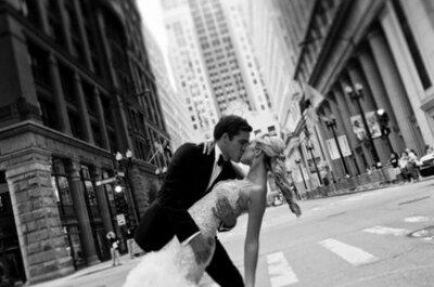 Sposi in the city: alcuni scatti di matrimoni in grandi città