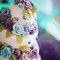 Tortas con pastillaje para bodas. Foto: Trowfotographie & Feeststudio.