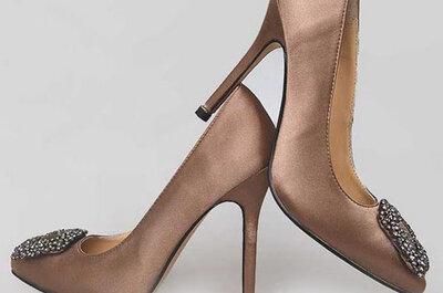 Zapatos para novia de Manolo Blahnik
