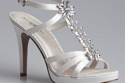 Buty ślubne z kolekcji Allure Bridals