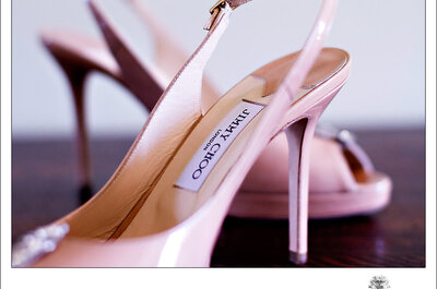 Inspire-se em sapatos de noivas reais