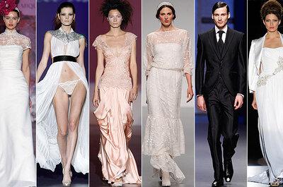 Cibeles Madrid Novias 2013: Los vestidos de novia que llevaremos el año que viene