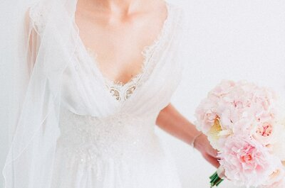 Prevenir ou remediar: 10 truques para não estragar o vestido de noiva no dia do casamento
