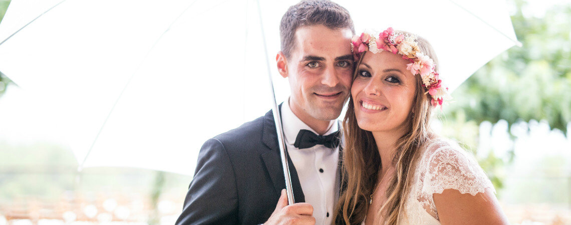 El sueño de una noche de verano: la boda de Nuria y Xavi