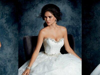 Wir präsentieren Ihnen faszinierende Brautkleider aus der Sapphire Kollektion von Alfred Angelo