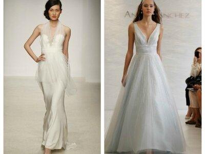 Brautkleider mit Herzauschnitt - die schönsten Modelle 2013
