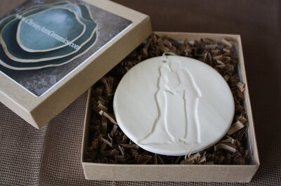 Giveaway: Handmade Ornament from Chrissy Ann Ceramics
