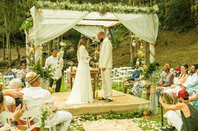 Casamento boho DIY: celebração mega romântica de Manuela e Virgílio em Juiz de Fora!