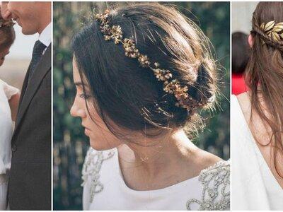 Espectaculares tendencias en peinados para novia 2016