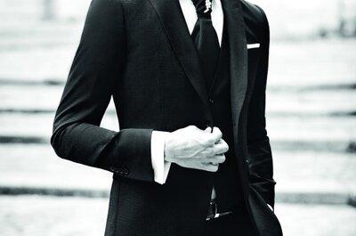Un style impeccable pour votre tenue de marié? Un jeu d'enfant avec Jean de Sey !