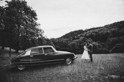 Emilie et Antoine : Un mariage couleur parme en pleine nature, dans un magnifique domaine alsacien