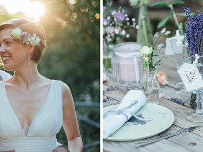 Romantische Toskana-Hochzeitsinspiration zwischen Olivenbäumen und Lavendel!