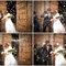 Arroz, confeti, serpentinas...¡a celebrar que los novios ya están casados! Foto: Sonia Senosiain