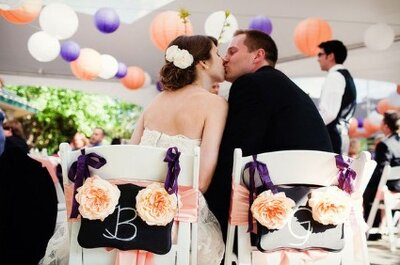 Fresh and Fun Ideas on Decorating your Wedding Chairs
