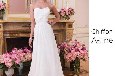 Suknie ślubne z dekoltem serduszkowym