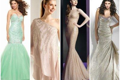 Abiti con cristalli per invitate...un trionfo di eleganza per le nozze 2013!