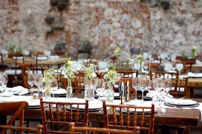Enamórate de un servicio de banquetes de primer nivel para tu boda