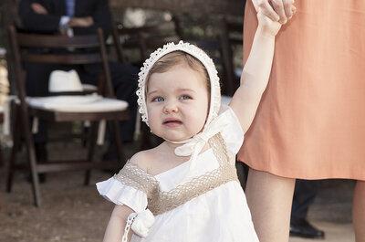 ¿Niños en la ceremonia matrimonial? Tips para la participación de los pequeños