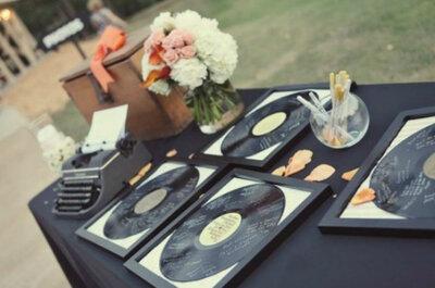 Opções de agradecimento aos noivos com estilo