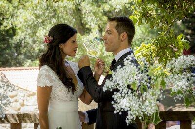 La naturaleza unida a la felicidad en un entorno natural inigualable para tu boda