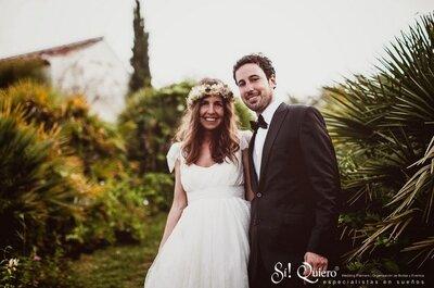 Una romántica boda en la que la originalidad fue la protagonista