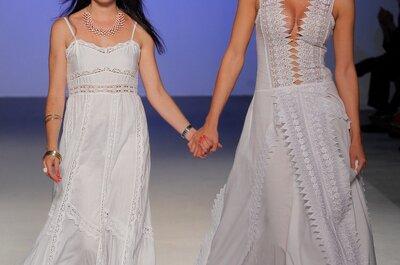 Las novias hippies de Dira Moda en Costura España