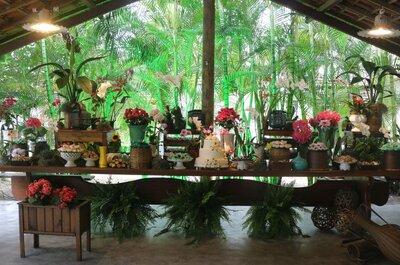 20 ideias para decoração de casamentos rústicos: crtl c + crtl v