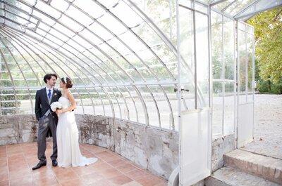 Découvrez le mariage de Benjamine et Mathieu, célébré dans une immense verrière!