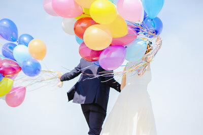 Chodź, pomaluj mój świat… Czyli słowo o kolorach na ślubie