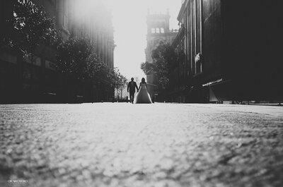 Para el día después de la boda, ¿qué tal una sesión de fotos en el Centro Histórico?