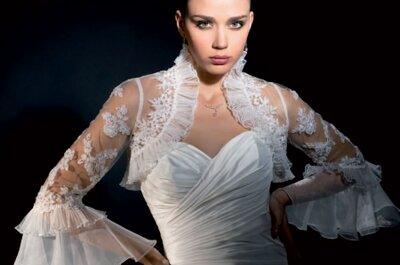Top 7 des boléros de mariée en dentelle