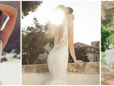 Escotes y espaldas pronunciadas, los vestidos de novia más hot: Entrevista a Karen Sánchez