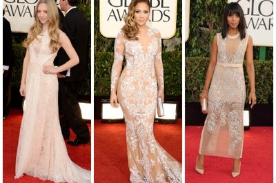 Los Globos de Oro 2013: inspiración en vestido a montones (FOTOS)