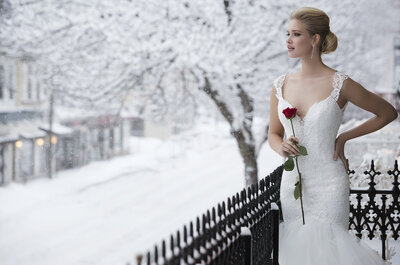 Justin Alexander 2016 : traînes délicates et décolletés profonds pour une mariée sublime !