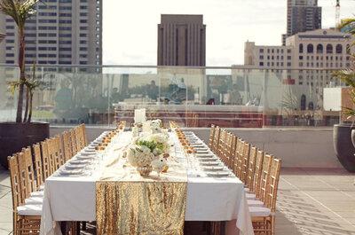 Los más lindos montajes de mesa para una boda de día... ¡Color y estilo sin igual!