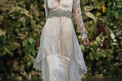 Gothic Angel: Claire Pettibone bridal collection 2015