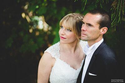L'élégant mariage sur le thème du vin de Sophie + François