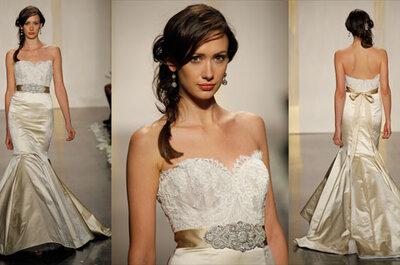 Kolekcja sukien ślubnych Lazaro, wiosna 2012