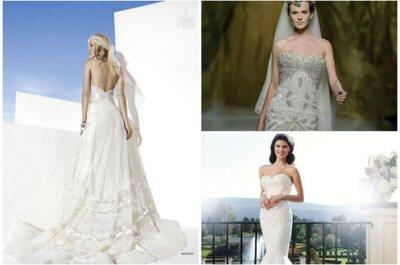 Brautkleider für heiße Sommerhochzeiten 2014