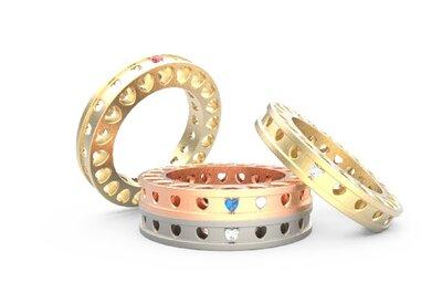 ¿Alianza o anillo de compromiso? Crea tus propias joyas y consigue un diseño único