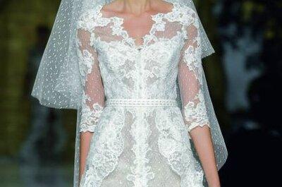 Sommerlicher Hochzeitstrend 2014: kurze Brautkleider!