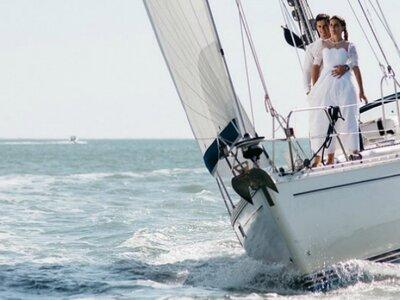 Un mariage en bord de mer : Shooting