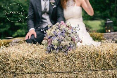 Celebra una boda de ensueño con la maravillosa decoración floral de Pando Floristas