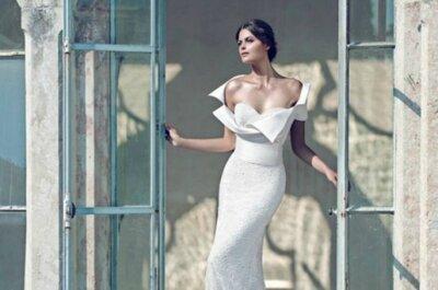 So sexy ist die Braut im Hochzeitsjahr 2015 mit diesen Brautkleidern!