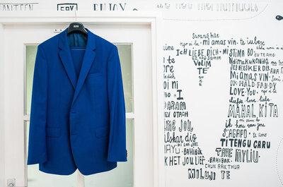 Tintje blauw voor je bruiloft: romantisch en fris!