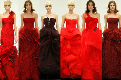 Inspiration mariage: rouge passion