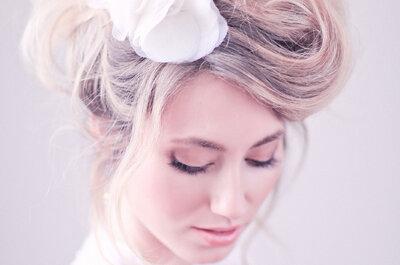 Maquillaje de novia de día 2017. ¡Encuentra tu look favorito!