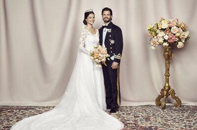 Royal Real Wedding in Sweden: Prince Carl Philip and Princess Sofia Hellqvist say I do!